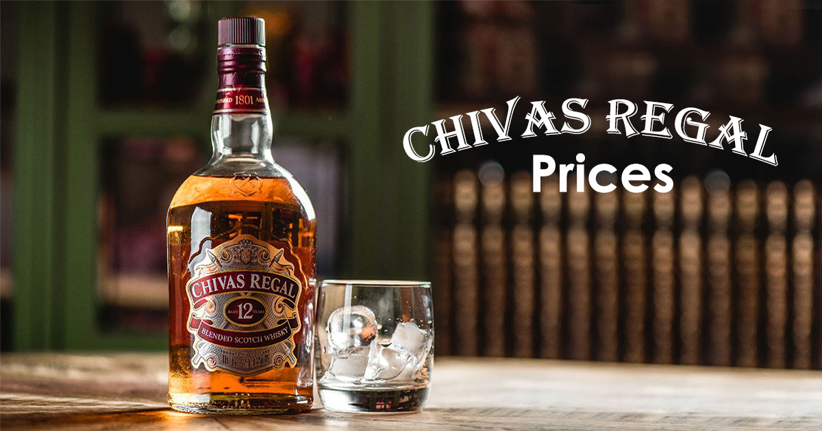 Chivas Regal Prices Image