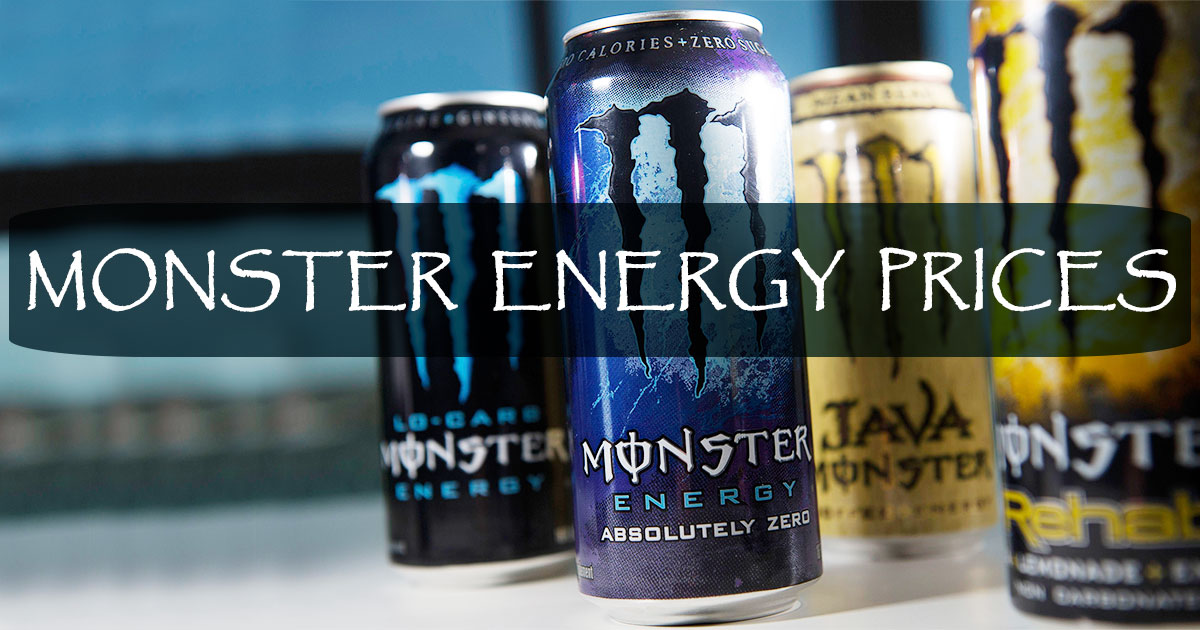 Monster Energy Prices Image