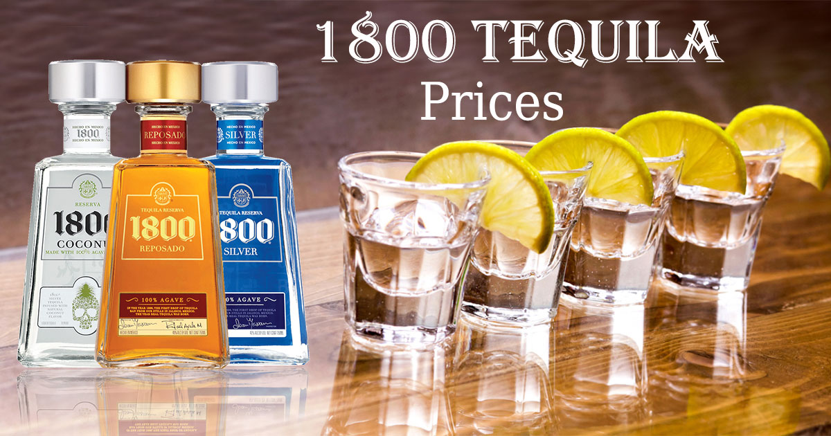 1800 Tequila Prices Image