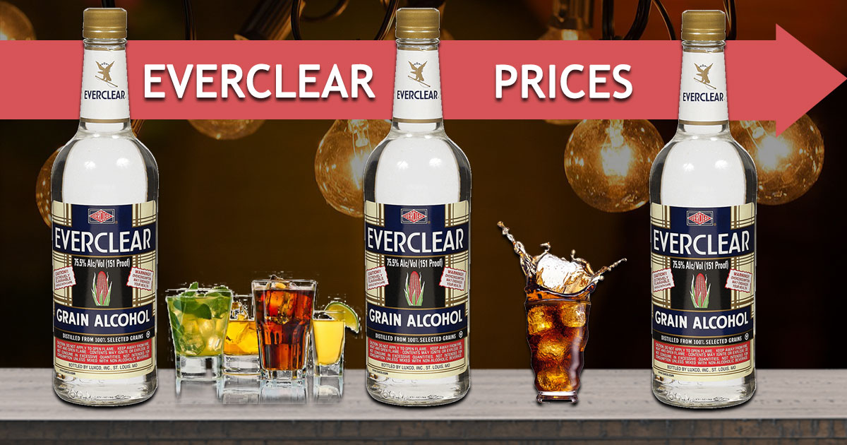 EverClear Prices Image