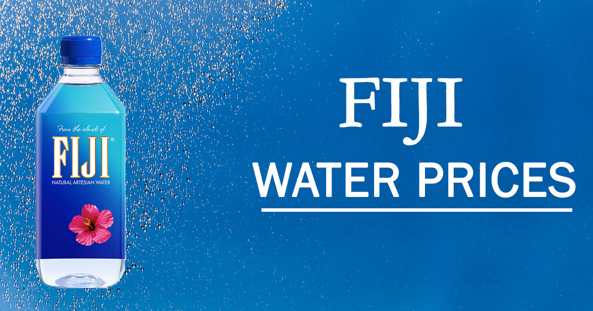 Fiji Water Prices Latest Facts And Properties Of Finest Water