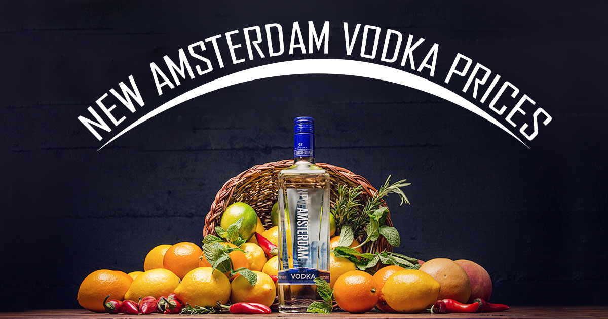 New Amsterdam Vodka Prices Image
