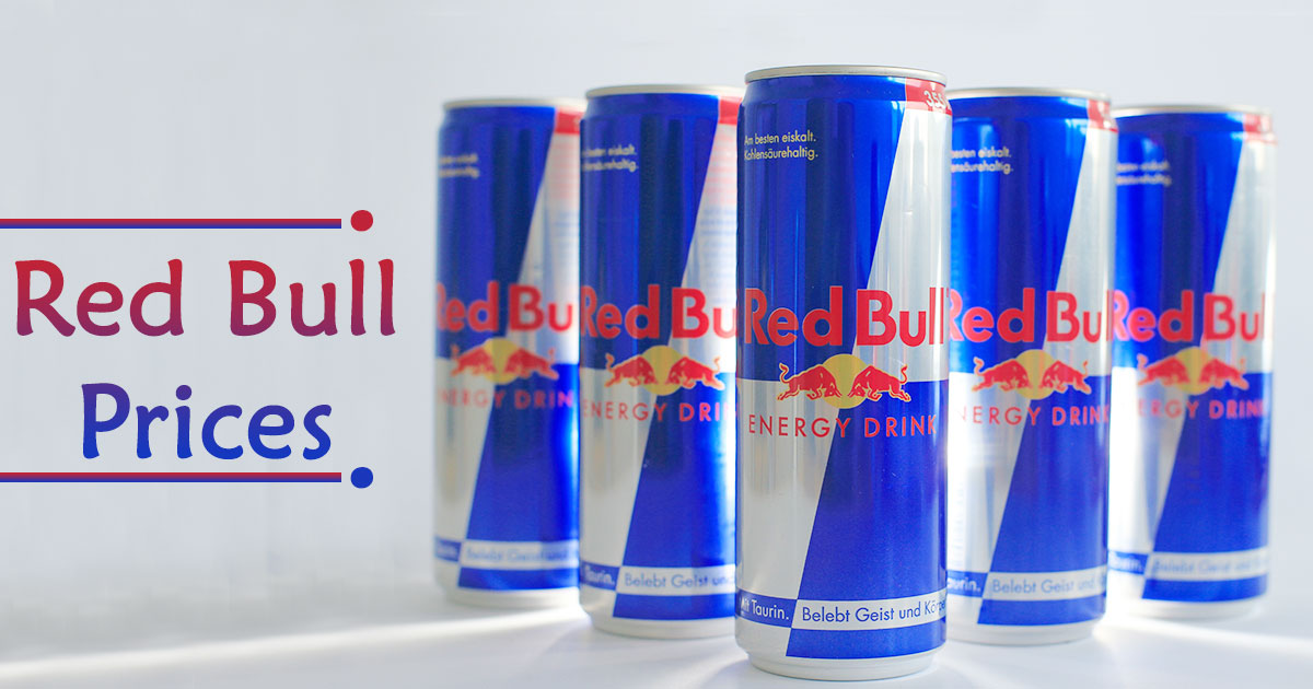 Red Bull Prices image
