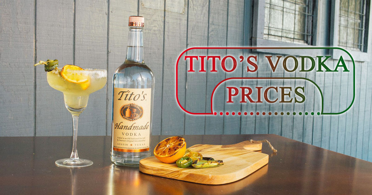 Titos Vodka Prices image